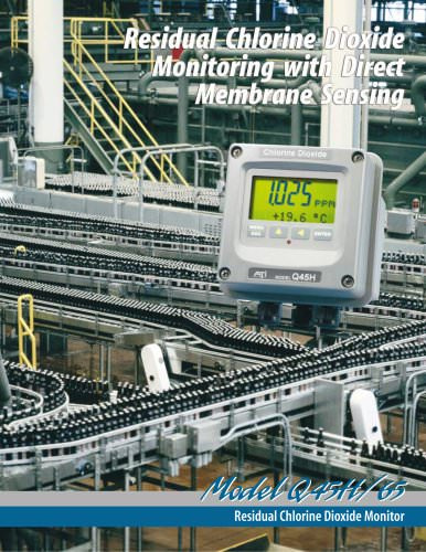 Analytical Technology Q45H/65 Chlorine Dioxide Monitor