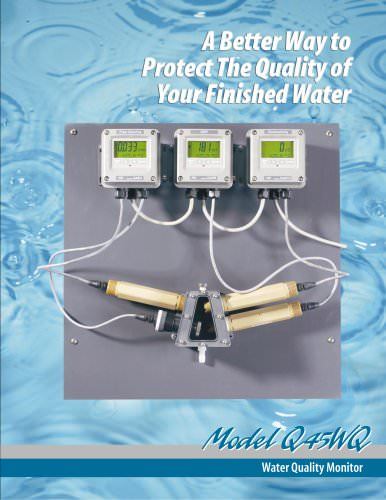 Analytical Technology Q45WQ Water Quality Panel