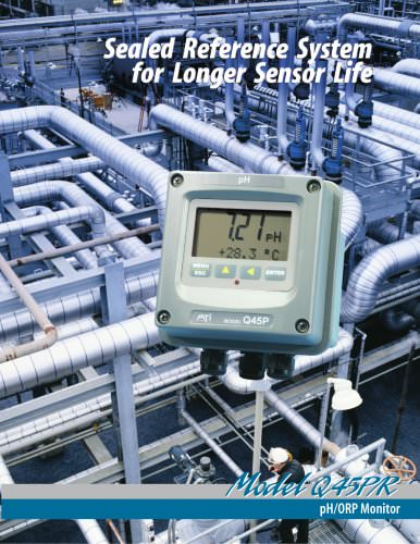 Analytical Technology's PH/ORP Monitor