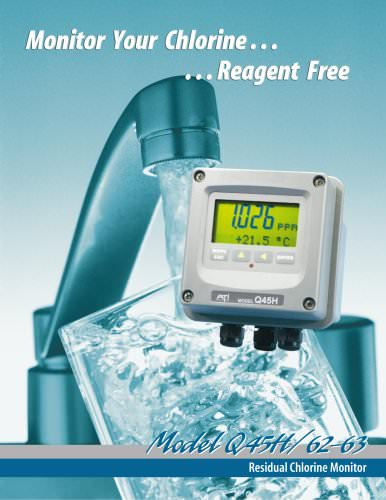 Analytical Technology's Q45H Residual Chlorine Monitor