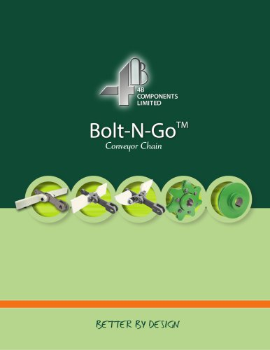 4B Bolt-N-Go chains - forged chains with bolt-on flights