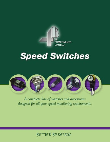 4B Speed Switches & Shaft Encoders