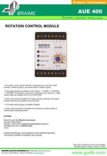 AUE400 - Rotation Control Module