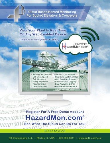 Hazardmon - cloud-based hazard monitoring solution