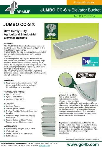 JUMBO CC-S Elevator Buckets