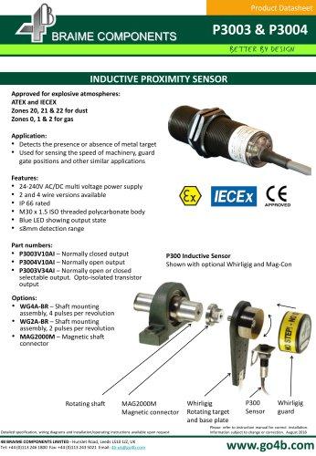 P3003 - 30mm Inductive Proximity Sensor