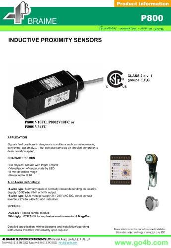 P800 - Inductive Proximity Sensor