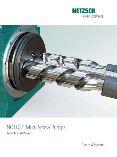 NOTOS® Multi Screw Pumps