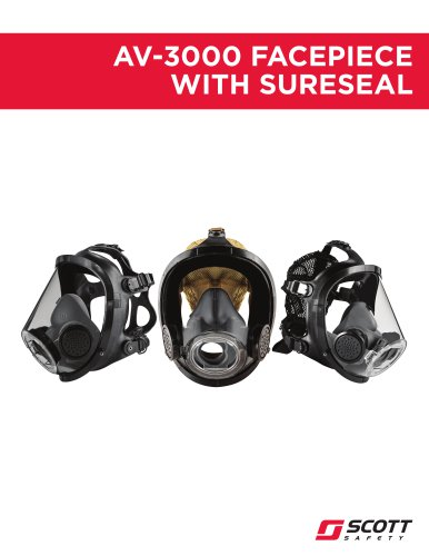 AV-3000 Facepiece with SureSeal