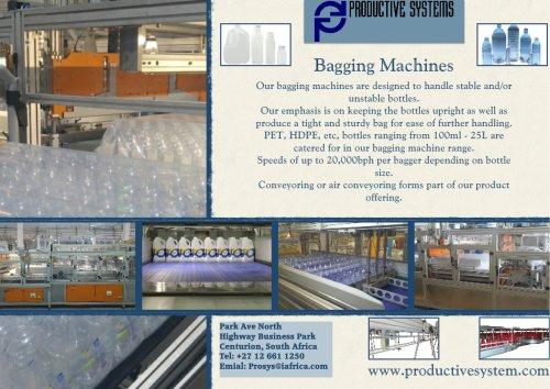 Bagging machines
