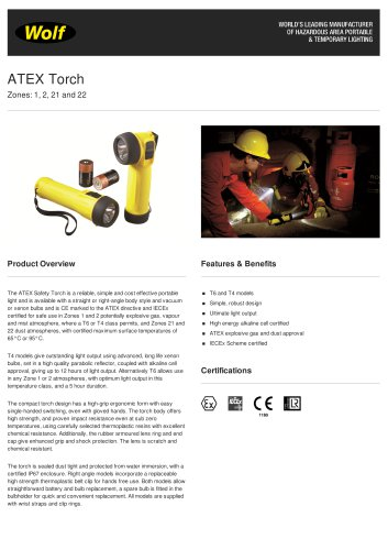 ATEX Safety Torch