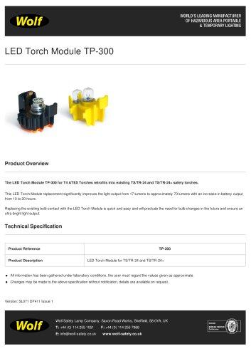 LED Torch Module TP-300