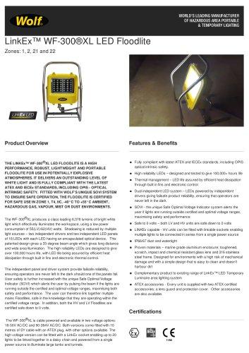 LinkEx™ WF-300®XL LED Floodlite