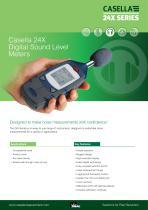 CEL-200 Series Digital Sound Level Meters