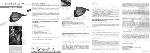 C-C500 User Manual