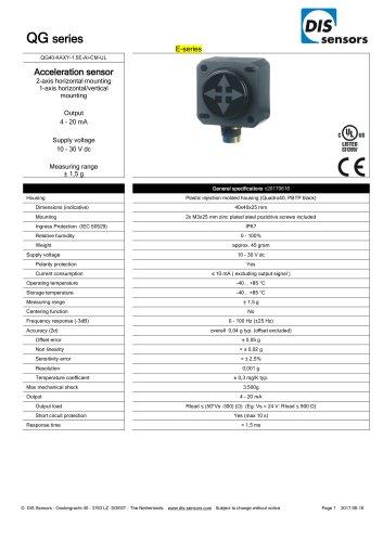 QG40-KAXY-1,5E-AI-CM-UL