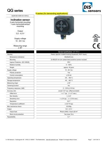 QG40-KD-030H-AV-CM-UL