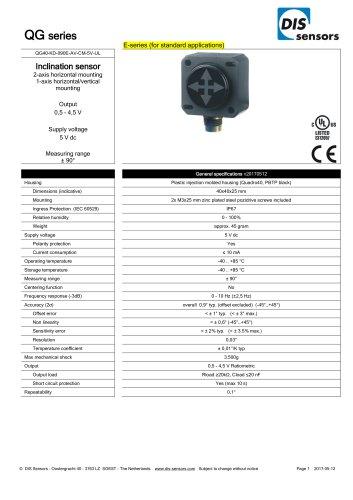 QG40-KD-090E-AV-CM-5V-UL