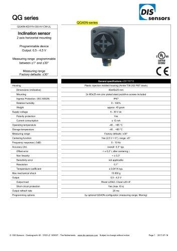 QG40N-KDXYh-030-AV-CM-UL