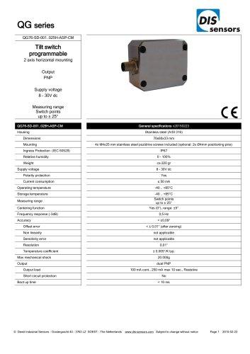 QG76-SD-001..025H-ASP-CM