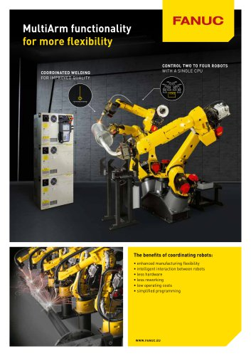 FANUC Multi Group Motion