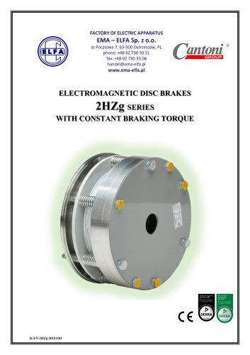 2HZg series - electromagnetic disc brakes