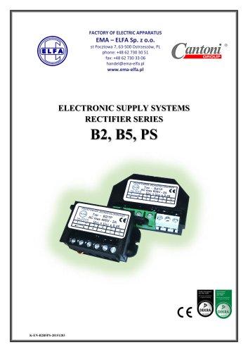 ELECTRONICSUPPLYSYSTEMSRECTIFIER SERIESB2, B5, PS