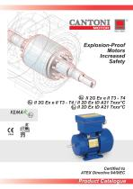 Explosion-proof Motors -Increased Safety II 2 G/D Ex