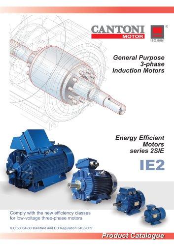 General Purpose 3-Phase Induction Motors (Energy Efficient