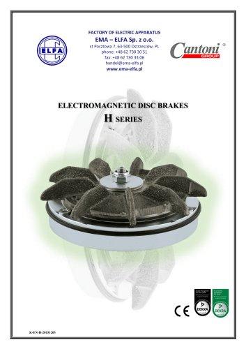 H Series - electromagnetic disc brakes