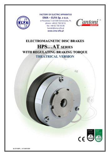 HPS…AT series - electromagnetic disc brakes