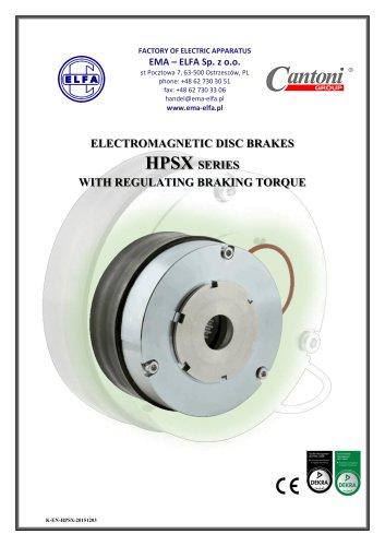 HPSX series - electromagnetic disc brakes