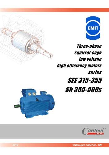 Low Voltage High Efficiency Motors