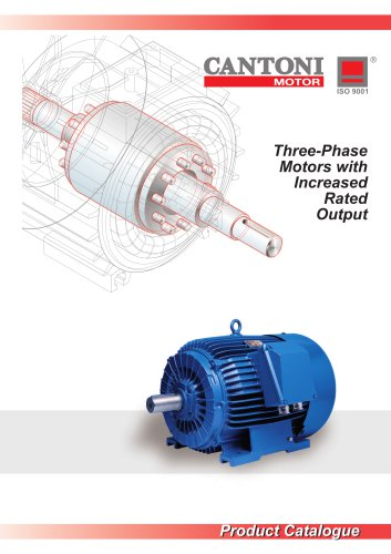 Three-Phase Motors with Increased Output