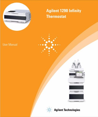 1290 Infinity Thermostat User Manual