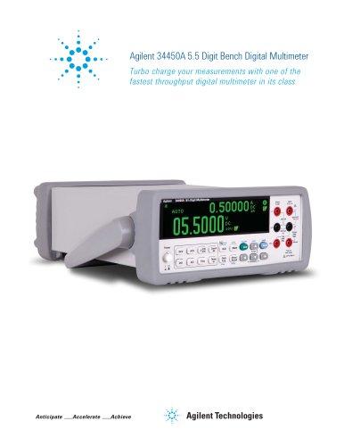 34450A 5.5 Digit Bench Digital Multimeter