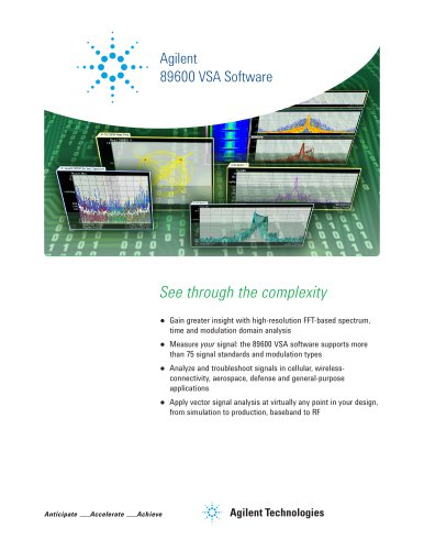 89600 VSA Software