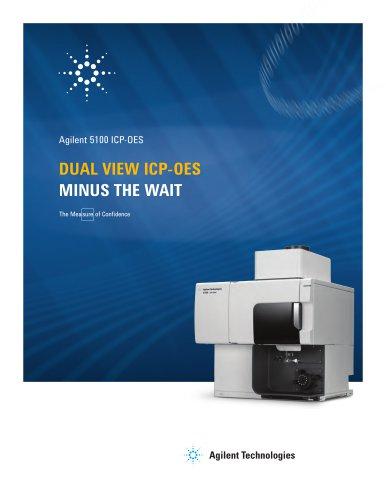 Agilent 5100 ICP-OES Dual view ICP-OES  Minus the wait