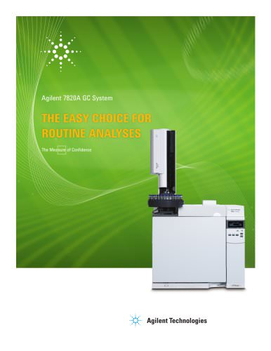 Agilent 7820A GC brochure