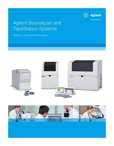 Agilent Bioanalyzer and TapeStation Systems