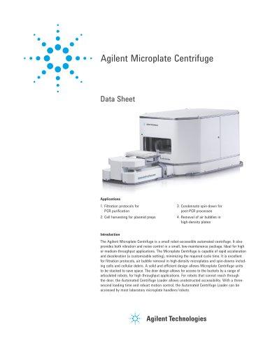 Agilent Microplate Centrifuge