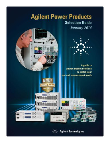 Agilent Power Products