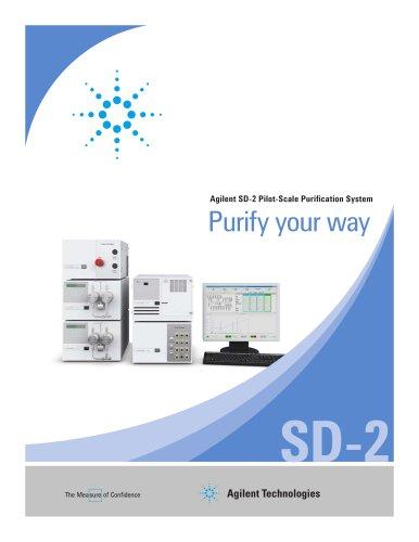 Agilent SD-2 Pilot-Scale Purification Systems