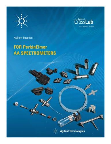 Agilent Supplies for PerkinElmer AA Spectrometers