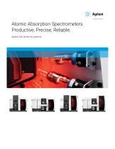 Atomic Absorption Spectrometers Productive, Precise, Reliable.