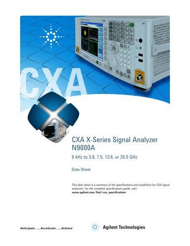 CXA X-Series Signal Analyzer  N9000A