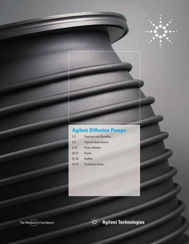 Diffusion Pumps Catalog