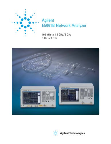E5061B Network Analyzer