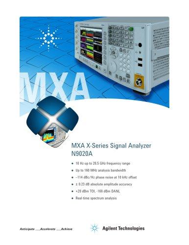 N9020A MXA X-Series Signal Analyzer