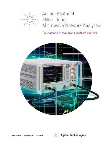 PNA and PNA-L Series Microwave Network Analyzers